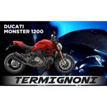 UPMAP Ducati Monster 1200 M1200 EU4 17 D173 SR